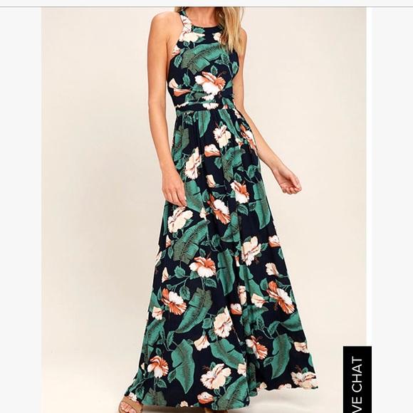 1c9ca153fb0 Lulu s Dresses   Skirts - Lulus Tropical Vibes Maxi Dress